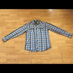 Men's Element Plaid Button-down Shirt size XL